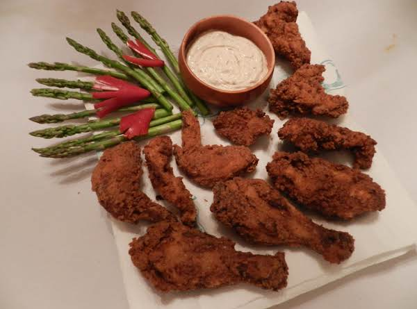 Spicy Yogurt Fried Chicken! Looks Yummy! Easy And Simply Try It On Your Own Today..