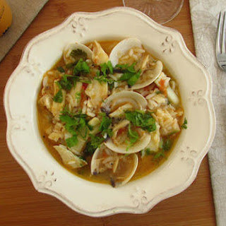 Cod Rice with Clams Recipe