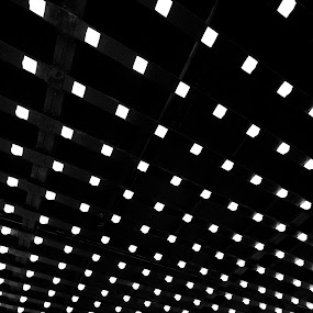 Lighting by Alexander Yap - Abstract Patterns ( b&w, pattern, arts, light, design )