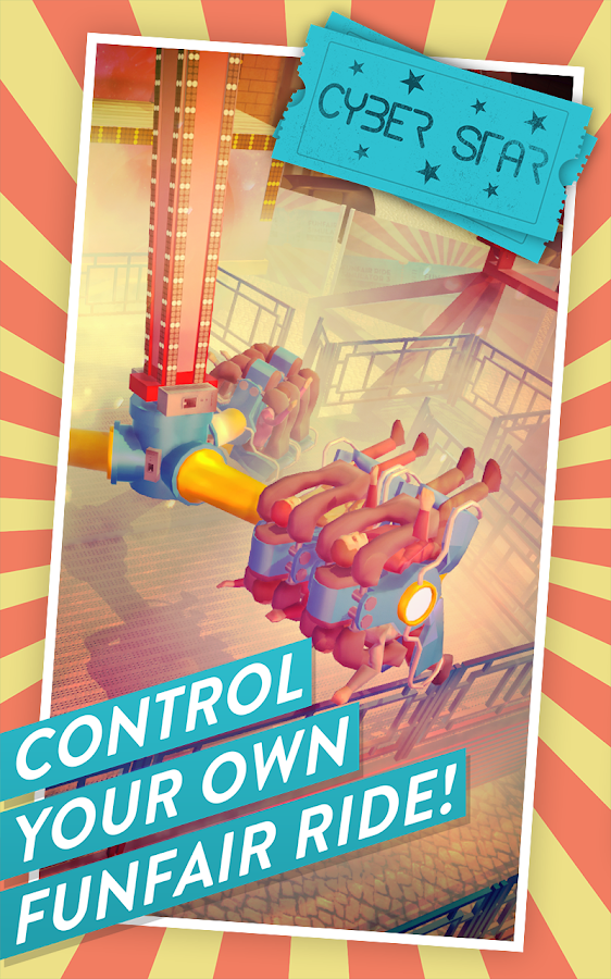 Funfair Ride Simulator 3: Control fairground rides- screenshot
