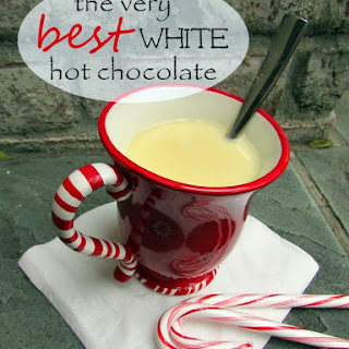 White Christmas Hot Chocolate!
