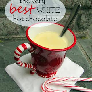 White Christmas Hot Chocolate!.