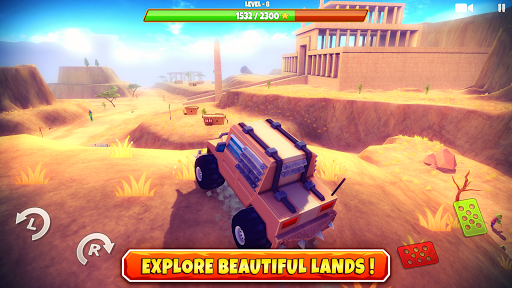 Zombie Offroad Safari 1.2.1 screenshots 1