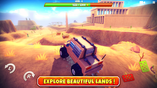 Zombie Offroad Safari MOD APK 1.2.1 (Unlimited Money) 1