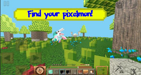 Mystical Pixelmon Lite craft: Exploration build 3D - náhled