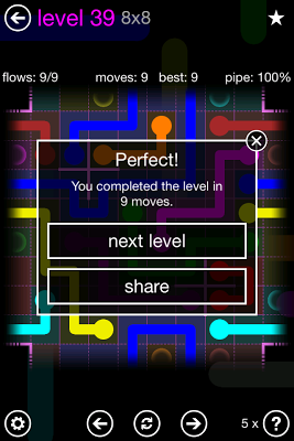 Flow Free: Warps - screenshot