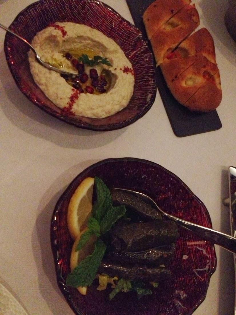 starters at Li Beirut, Abu Dhabi, UAE