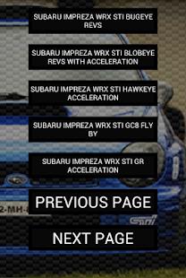 Engine Sounds of Impreza STi - náhled