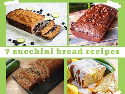 7 Zucchini Bread Recipes