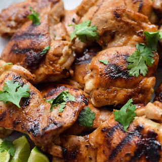 Ginger Honey Glazed Chicken