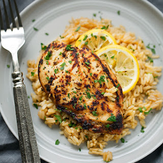 Chicken Breast With Rice Pilaf Recipes