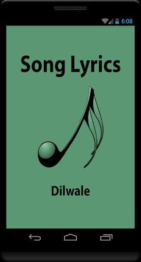 Hindi Lyrics of Dilwale