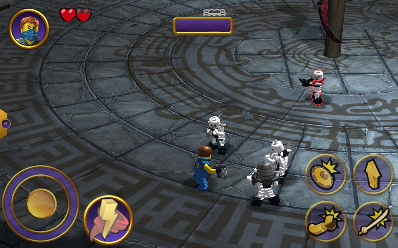 Screenshots of LEGO® Ninjago Tournament- free ninja game for kids for iPhone