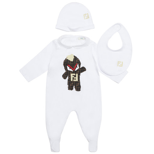 Primary image of Fendi Babygrow Gift Set