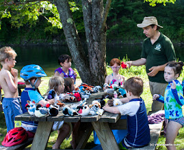 Photo: These children are really impressed by what they are learning at Little River State Park by Tara Schatz