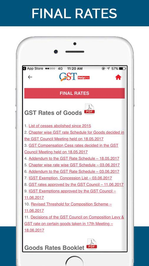 GST Helpline (GSTR Filing & E-WAY Bill Guide)- screenshot