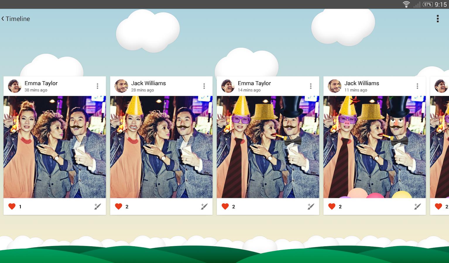 Schizzo- screenshot