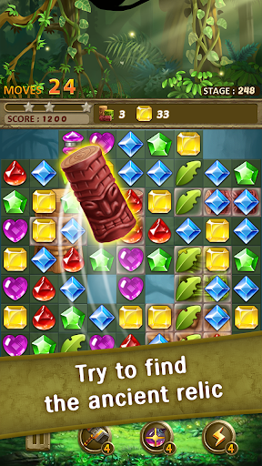 Jewels Jungle : Match 3 Puzzle - screenshot