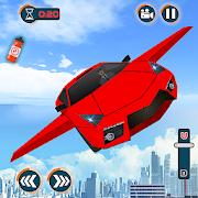 Flying Car Games 2020- Drive Robot Car Shooting
