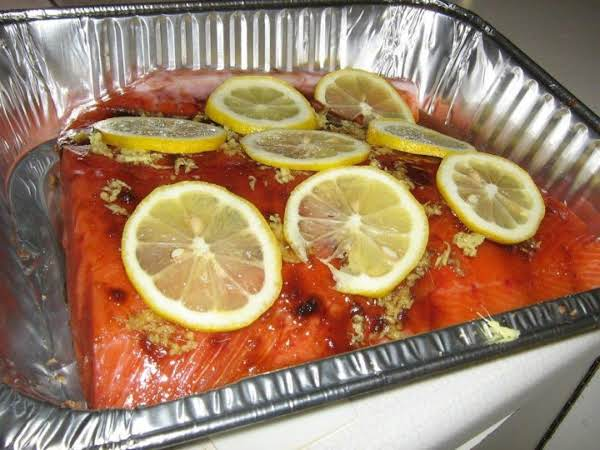 Grilled Or Baked Salmon With Brown Sugar/ginger Recipe