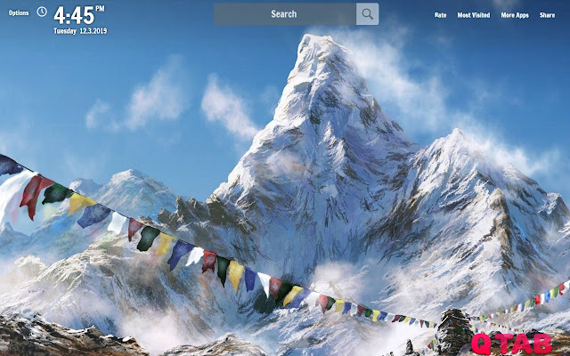 Mount Everest New Tab MT Everest Wallpapers