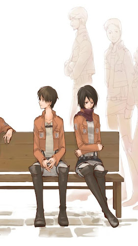 Download Eren X Mikasa Wallpaper Apk Latest Version For Android