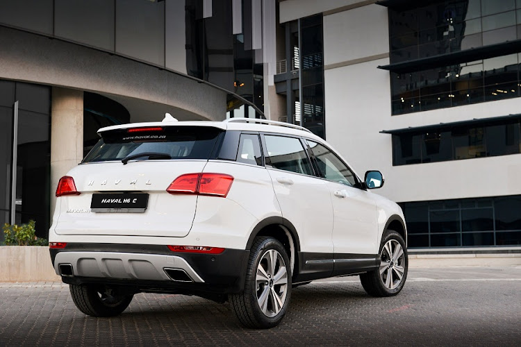 The rear design provides something of a coupe look. Picture: QUICKPIC/HAVAL SA