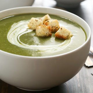 Slow Cooker Broccoli Spinach and Potato Soup