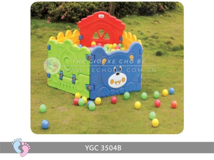 Nhà banh mini cho bé YGC-3504B 8