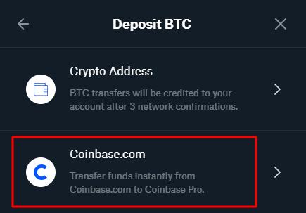 Bitcoin kaufen auf Coinbase