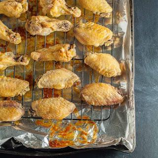 Ultra Crispy (Flourless) Baked Garlic Parmesan Wings