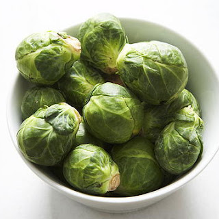 Boiled Brussels Sprouts.