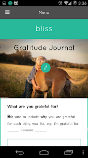 Gratitude Journal- screenshot thumbnail