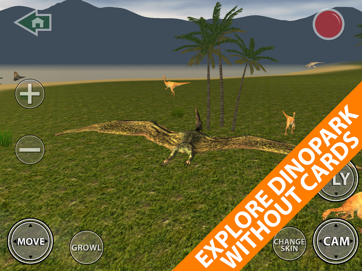 Augmented Reality Dinosaurs - myARgalaxy- screenshot