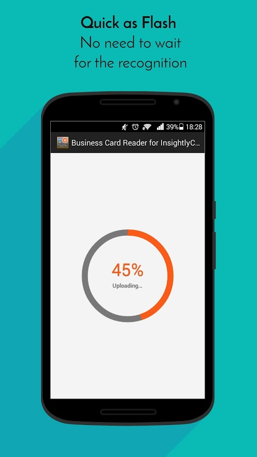 Business Card Reader for Insightly CRM- screenshot