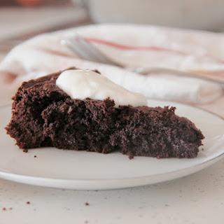 Dairy-Free Swedish Chocolate Cake (Kladdkaka)