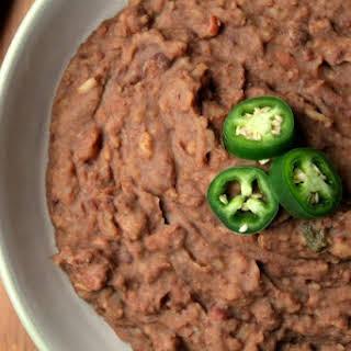 Instant Pot Refried Beans.