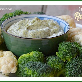 5-Minute Ranch Dip (dairy free)