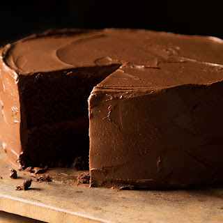 Chocolate-Habanero Cake with Chocolate-Avocado Buttercream