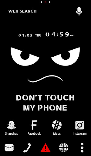 Wallpaper Don't Touch My Phone 1.0.0 Windows u7528 1