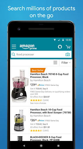 Amazon Shopping Android App Screenshot