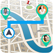 GPS Earth Map Friend Tracker & Driving Route Guide