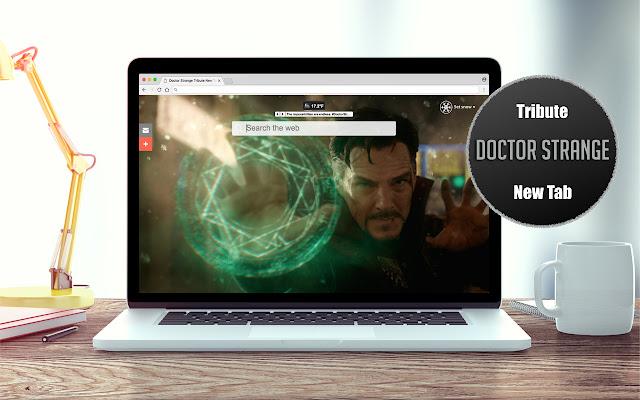 Doctor Strange Tribute New Tab