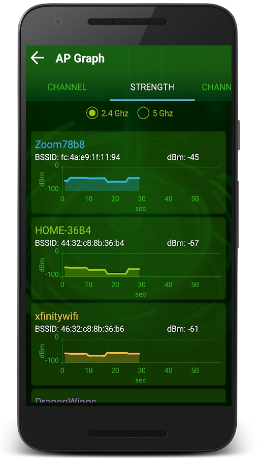 Wifi Analyzer- Home Wifi Alert- screenshot