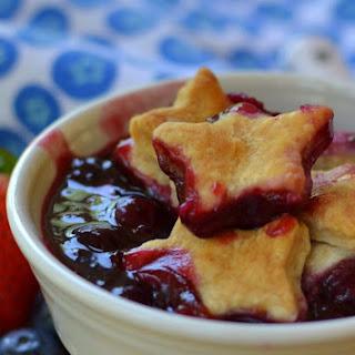 Strawberry Blueberry Blackberry Pie Cobbler Recipe