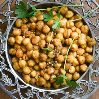Tandoori Roasted Chickpeas.