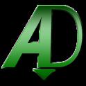 aDownloader icon