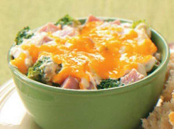 Ham And Wild Rice Casserole Recipe