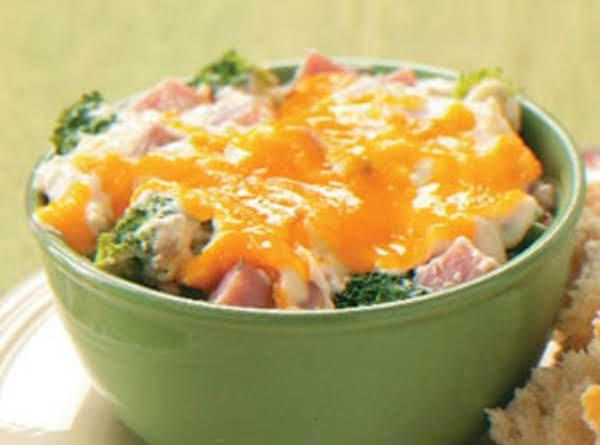 Ham And Wild Rice Casserole