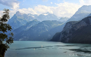 Photo: Sailing Lake Lucerne